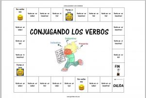 Juego de los verbos