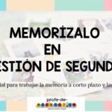MEMORÍZALO EN CUESTIÓN DE SEGUNDOS