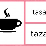 PARES SIMILARES: tasa vs. taza