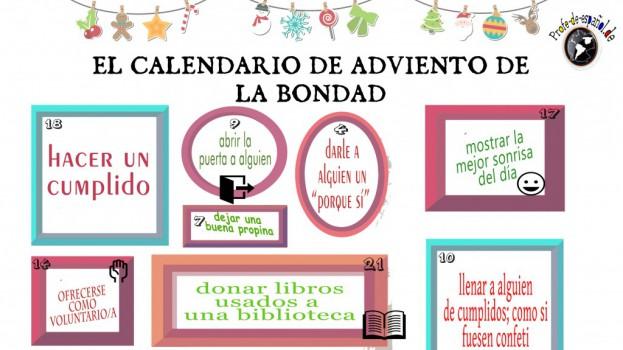 CALENDARIO DE ADVIENTO DE LA BONDAD