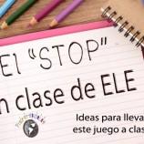 """EL """"STOP"""" EN CLASE DE ELE"""