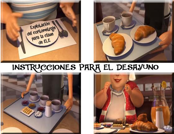 """EXPLOTACIÓN: """"Instrucciones para el desayuno"""""""
