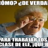 LOS MEMES EN CLASE DE ELE