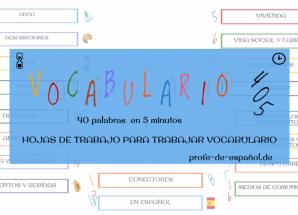 VOCABULARIO 405