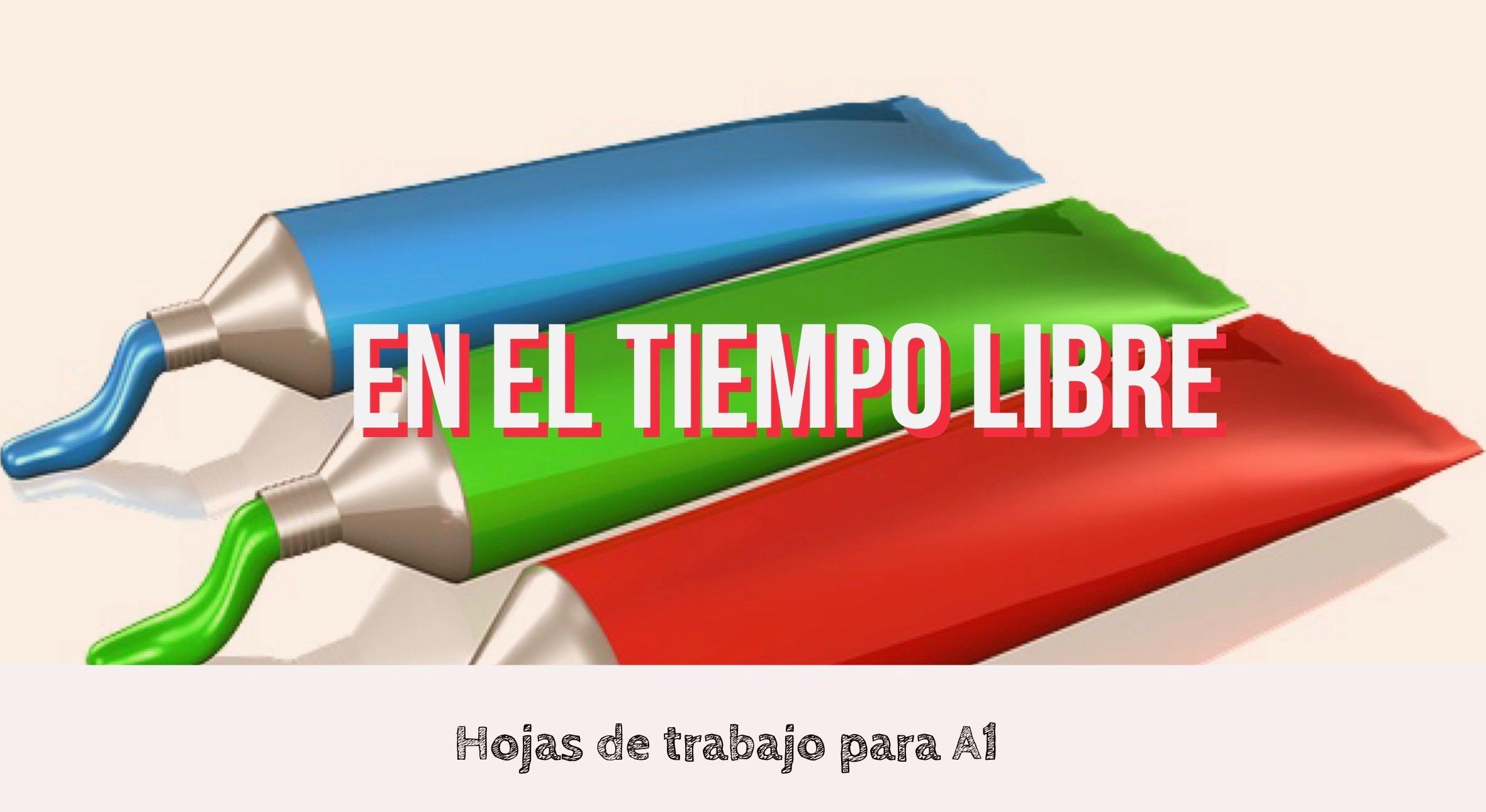 EN EL TIEMPO LIBRE