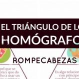 EL TRIÁNGULO DE LOS HOMÓGRAFOS