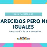 PARECIDOS PERO NO IGUALES