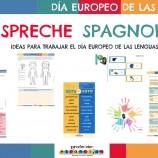 """""""I SPRECHE SPAGNOLO"""": IDEAS PARA TRABAJAR EL DÍA EUROPEO DE LAS LENGUAS"""