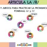 ARTICULA LA /R/: MATERIALES Y JUEGOS PARA TRABAJAR LA PRONUNCIACIÓN