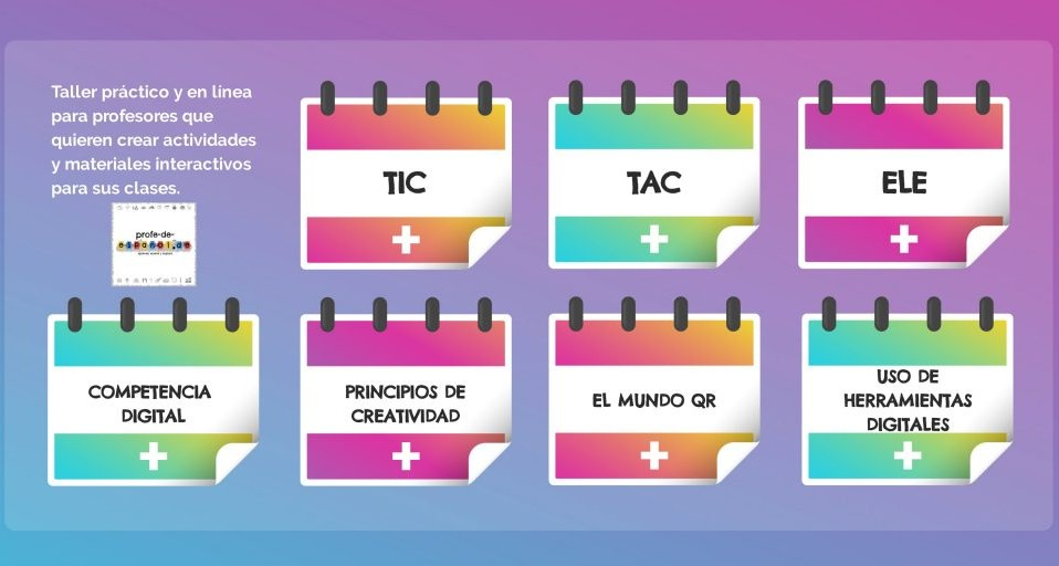 TIC TAC ELE: TALLER EN LÍNEA PARA PROFESORES