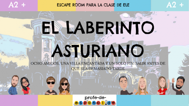 EL LABERINTO ASTURIANO: ESCAPE ROOM PARA LA CLASE DE ELE