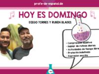 HOY ES DOMINGO: DIEGO TORRES Y RUBÉN BLADES
