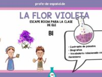 LA FLOR VIOLETA: ESCAPE ROOM