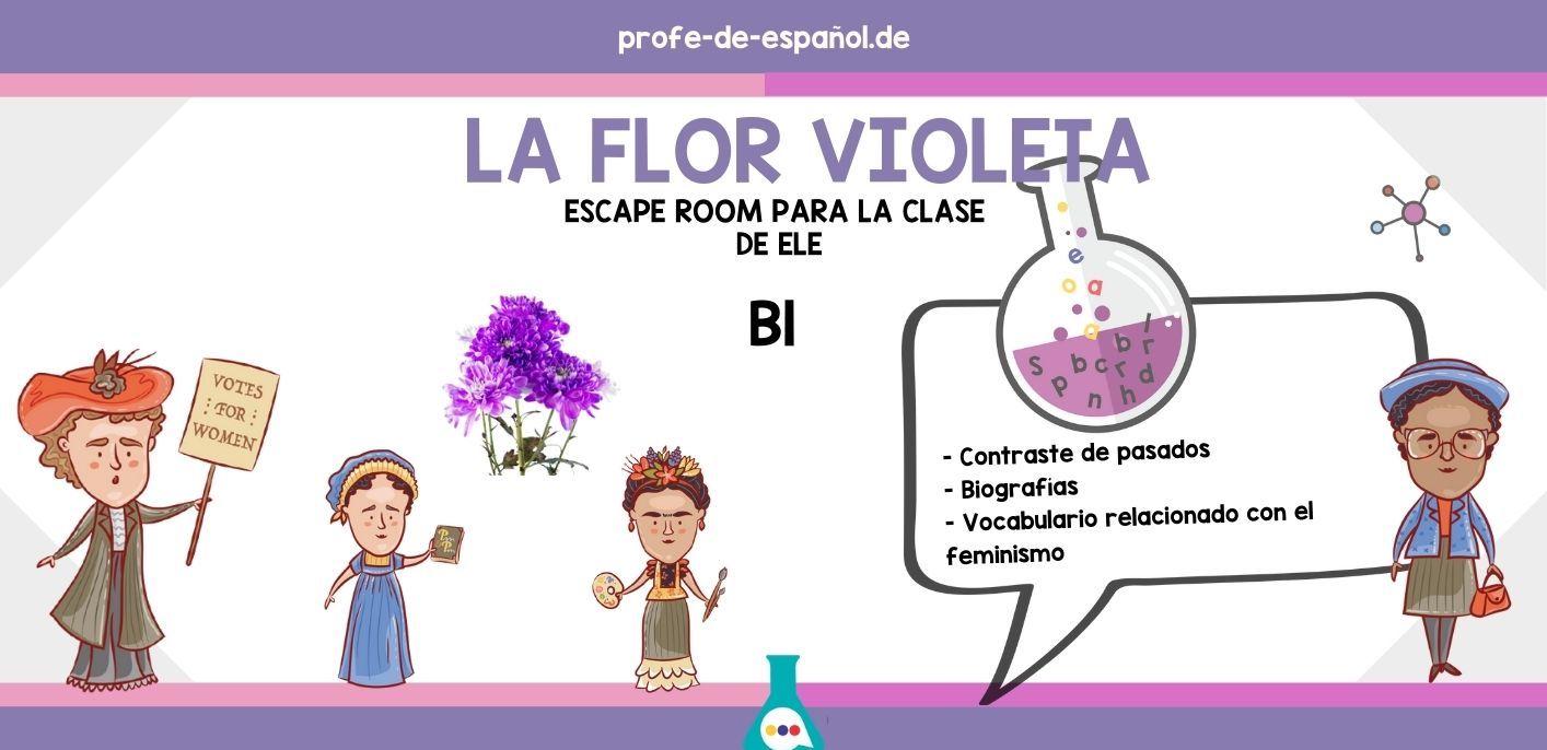 LA FLOR VIOLETA: ESCAPE ROOM